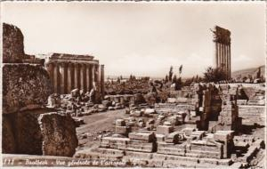 Lebanon Baalbek General View Of Acropolis Photo