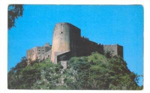 Telephoto view of Citadel Henri Christope, Nothern Haiti, 40-60s