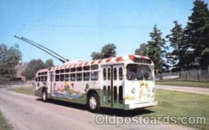Dayton, Ohio, Oh, USA Miami Valley Transit Bus Unused