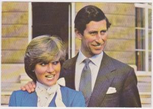 HRH PRINCE OF WALES AND LADY DIANA SPENCER ENGAGEMENT PHOTO SHOOT