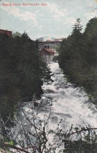 SHERBROOKE, Quebec, Canada, PU-1906; Magog River