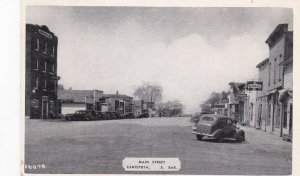 Main Street , CANISTOA , South Dakota , 30-40s