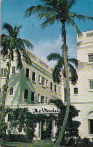 Florida Palm Beach The Vineta Hotel 1956