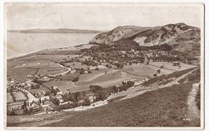 Conway; Dwygifylchi PPC, 1941 PMK, Panorama From Hill Above Village