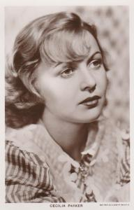 RPPC Cecilia Parker (1914-1993) Canadian Born American Film Actress