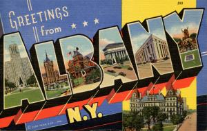 Large Letter - Albany, New York