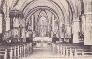 France Pelerinage de Notre-Dame de Sion L'Interieur de la Basilique 1933