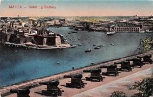 Malta - Saluting Battery panorama