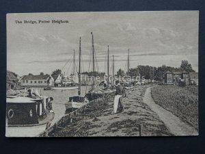 Norfolk POTTER HEIGHAM The Bridge (2) Old Postcard