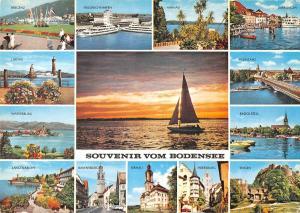 GG14078 Souvenir vom Bodensee, Wasserburg Lindau Bregenz Friedrichshafen Birnau