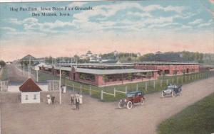 Iowa Des Moines Hog Pavilion Iowa State Fairgrounds Curteich