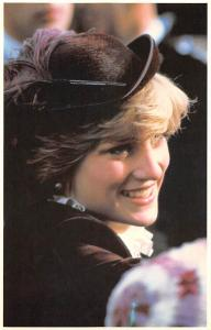 Brecon Walk about 1981 Princess Diana with a Beautiful Hat