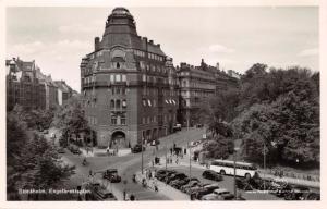 STOCKHOLM SWEDEN~ENGELBREKTSPLAN~PHOTO POSTCARD c1940s