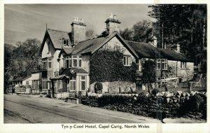 Tyn y Coed Hotel Capel Curig North Wales REAL PHOTO 03.93
