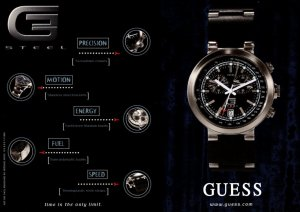Canada Advertising Guess Watches