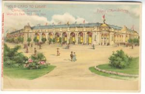 Palace of Manufactures H-T-L St Louis Worlds Fair Exposition Postcard