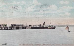 Ocean Liner S.S. Prince Rupert at DIGBY , Nova Scotia , Canada , PU-1906