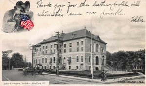 The Lyceum, Long Branch, N.J., Early Postcard, Used in 1906, Arthur Livingston