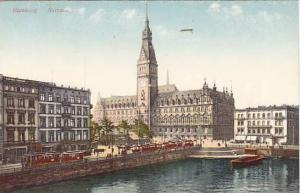 Rathaus, Hamburg, Germany, 1900-1910s