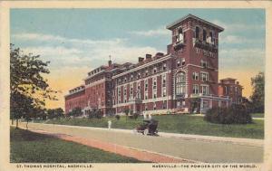 Exterior, St. Thomas Hospital,  Nashville,  Tennessee,  PU-1912