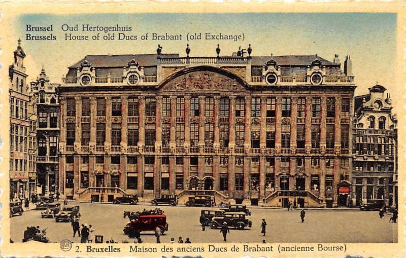 Belgium Brussel Oud Hertogenhuis Brussels House Of Old Ducs Of