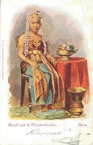 Indonesia Bruid uit de Vorstenlanden Java 03.08