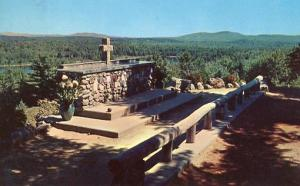 NH - Rindge, Cathedral of the Pines Altar