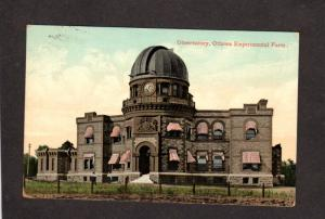 ON Ottawa Observatory Experimental Farm Canada Carte Postale Ontario Postcard