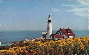 Maine Portland Head Light House