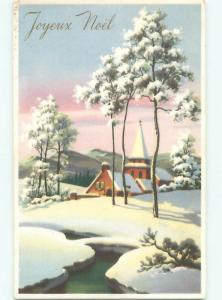 Mid-Century Era GREAT SCENE Scarce Foreign Postcard AA6798