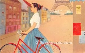 Twa's Jestream Painting by Maric Zamparelli Bicycle Unused