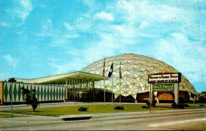 Virginia Virginia Beach First Aluminum Domed Convention Center 1965