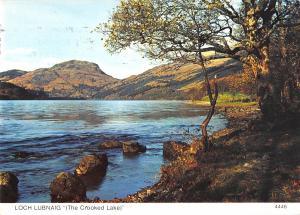 B103319 loch lubnaig the crooked lake   scotland