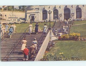 Unused Pre-1980 CHURCH SCENE Montreal Quebec QC A5945