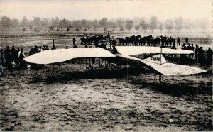 Aviation 1910 Le Monoplane Estrich Airplane RPPC 07.30