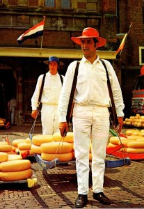 Netherlands Alkmaar Alkmaarse Klederdracht Cheese Makers