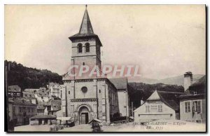 Postcard Argeles Gazost Old Church