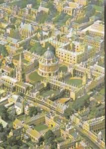 England Oxford Aerial View The City Centre