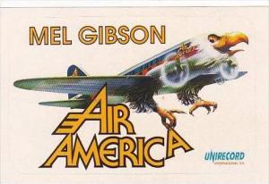 MEL GIBSON AIR AMERICA VINTAGE AVIATION LABEL