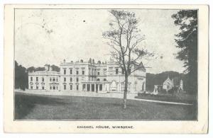 Dorset; Crichel House, Wimborne PPC, 1904 Blandford PMK to Wallisdown