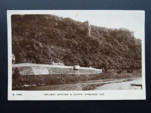 Herefordshire SYMONDS YAT RAILWAY STATION c1913 RP Poscard by Kingsway