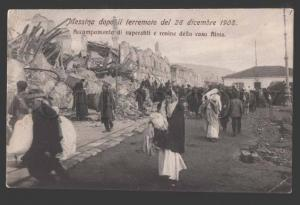 114987 ITALY Messina after the earthquake of 28 December 1908