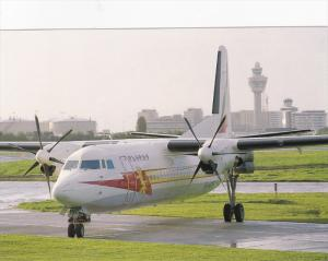 Ethiopian Airlines Fokker 50 Airplane , 80-90s