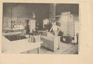 NORTH HERO , Vermont, 1900-10s ; Camp Abnaki ; The Kitchen