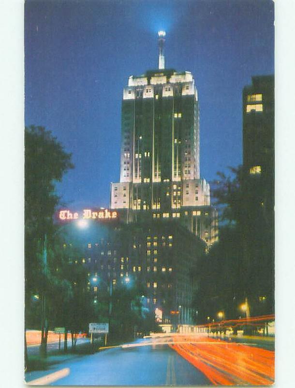 Unused Pre-1980 THE DRAKE HOTEL Chicago Illinois IL hr7089