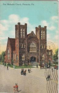 PENSACOLA FL - FIRST METHODIST CHURCH 1910s era