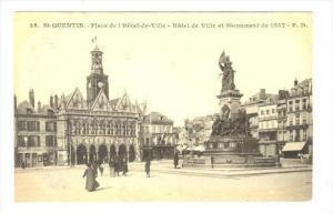 Saint-Quentin, Aisne départment in Picardy , France, 00-10s   Place de l'Hot...
