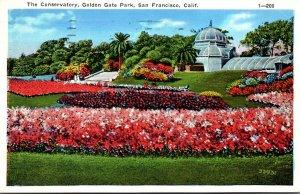 California San Francisco Golden Gate Park The Conservatory 1936