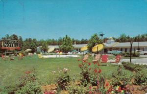 Colonial Motel & Jarratt Restaurant, JARRATT, Virginia, PU-1965
