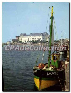 Modern Postcard Trouville Queen Casino Beaches and harbor